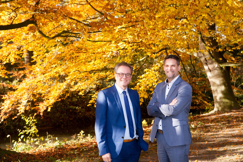 BCT-directeuren Jos Bischoff (l) en Dimitri Palmen (r)