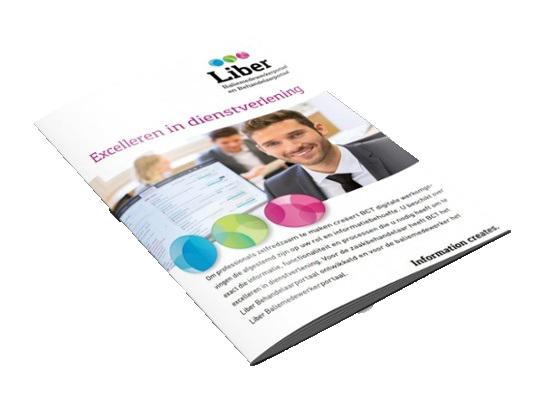 Brochure Liber Baliemedewerker- en Behandelaarportaal
