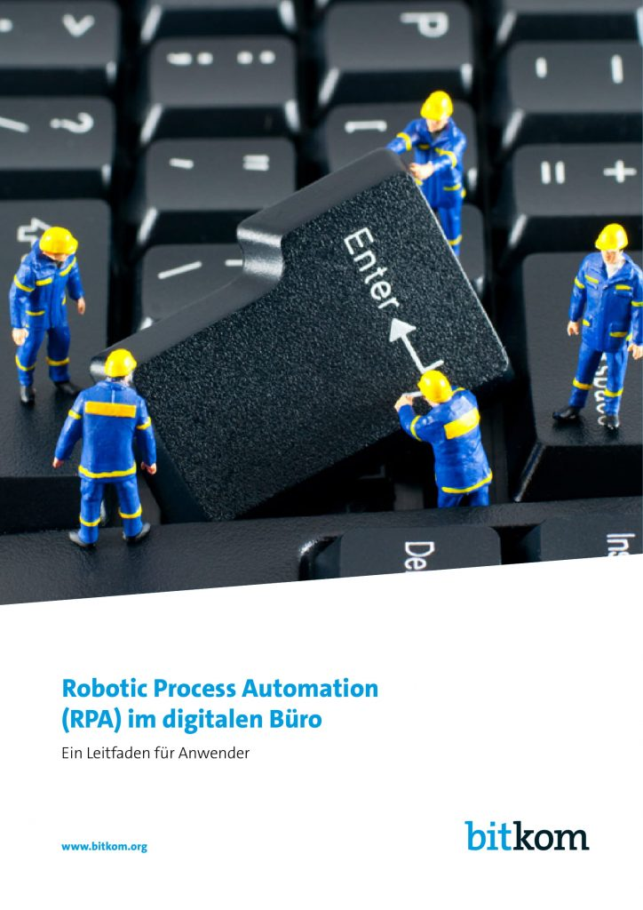 Bitkom-Leitfaden RPA im Digital Office