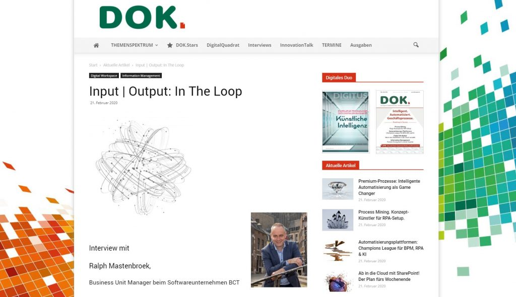 Closed Loop in der Dokumentenverarbeitung